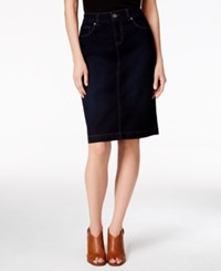 Styleandco. Style Co. Rinse Wash Denim Skirt Only At Macy's