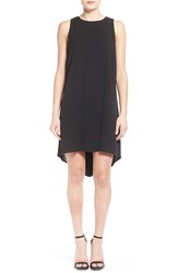 Junior Women's One Clothing Back Panel Shift Dress