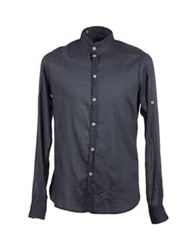 Fred Mello Long Sleeve Shirts Steel Grey