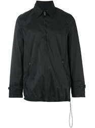 Our Legacy Zip Collar Smock Jacket Men Nylon 48 Black
