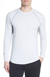 Tasc Performance Charge Ii Long Sleeve Shirt Light Heather Gray