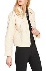 Ayr The International Twill Jacket Ice Cream