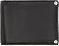 Alexander Wang Black Leather Mason Wallet