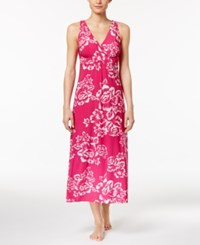 Alfani Floral Print Knit Long Nightgown Only At Macy's Washed Floral