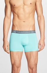 Tommy John 'Cool Cotton' Trunks Lagoon Blue