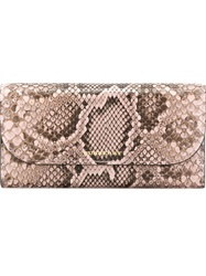 Burberry Python Skin Wallet Pink And Purple