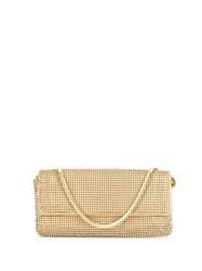 Whiting And Davis Pyramid Mesh Clutch Bag 60