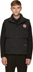 Canada Goose Black Puffer Freestyle Vest