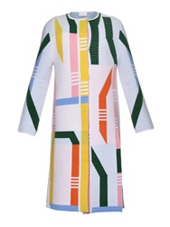 Peter Pilotto Track Knit Coat