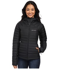 Columbia Gold 750 Turbodown Hybrid Hooded Jacket Black Women's Coat