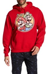 Fifth Sun Mario Brothers Hoodie Red