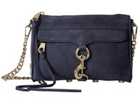 Rebecca Minkoff Mini Mac Moon 1 Cross Body Handbags Blue