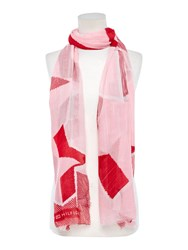 Tommy Hilfiger Texture Scarf Pink