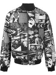 Surface To Air Photographic Print Bomber Jacket