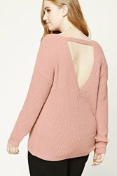 Forever 21 Plus Size Ribbed V Neck Sweater