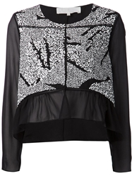 Thakoon Addition Sequin Embellished Blouse Black