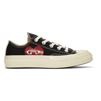 Comme Des Garcons Play Black Converse Edition Half Heart Chuck Taylor All Star '70 Low Sneakers
