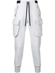 Unravel Project Tapered Trousers White