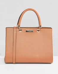 Carvela Structured Tote Bag Tan