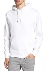 J.Crew Garment Dyed French Terry Hoodie White