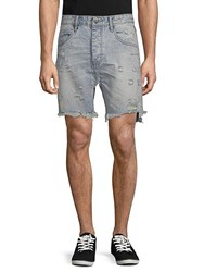 One Teaspoon Distressed Denim Shorts Salty Dog