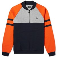 Patta Half Zip Sweat Multi