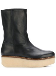 Flamingos Cheyenne Boots Black