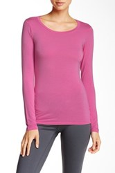 Solow Layering Long Sleeve Tee Pink