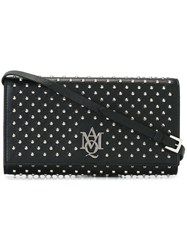Alexander Mcqueen Amq Pouch With Strap Black
