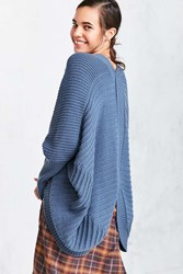 Ecote Aiden Cocoon Cardigan Blue