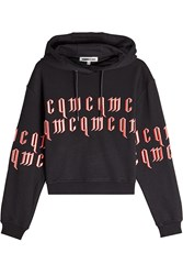 Mcq By Alexander Mcqueen Cotton Hoodie With Embroidered Logo