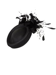Jacques Vert Feather Pill Box Headpiece