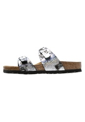 Birkenstock Sydney Slippers Black Mottled Black