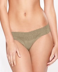 Maidenform Dream Lace Thong 40156 Body Beige