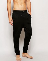 Boss Hugo Cuffed Slim Joggers Black