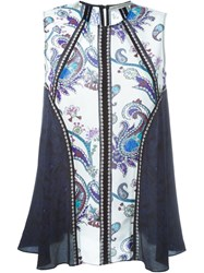 Mary Katrantzou 'Urdu' Tank Top White