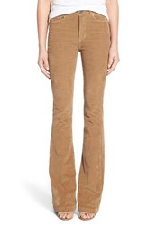 Women's Paige Denim 'Bell Canyon' High Rise Corduroy Flare Pants Rye