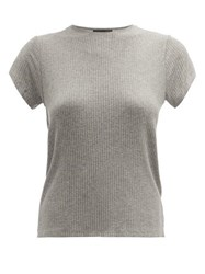Atm Anthony Thomas Melillo Wide Rib T Shirt Grey