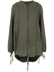 Osklen Eco Mix Coat Green