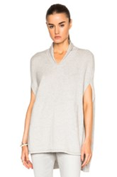 Inhabit Cashmere Poncho In Gray