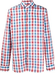 Barba Cotton Checked Shirt 60