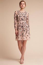 Anthropologie Astaire Wedding Guest Dress Lilac