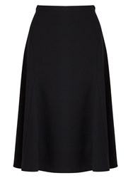 East Crepe Skirt Black