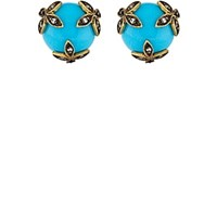 Cathy Waterman Flower Wrapped Studs