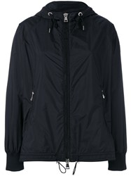 Moncler Hooded Lightweight Jacket Black
