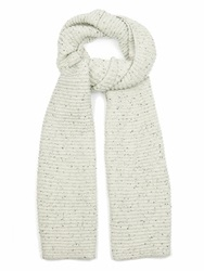 Raey Chunky Ribbed Knit Donegal Wool Scarf