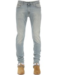 Represent Essential Cotton Blend Denim Jeans Blue