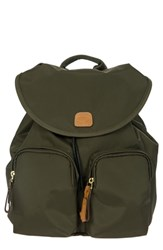 Bric's X Travel City Backpack Green