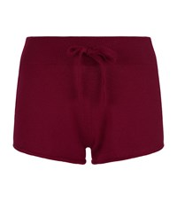 Harrods Of London Cashmere Shorts Female Red