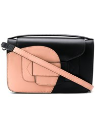 Pierre Hardy Colour Contrast Shoulder Bag Black